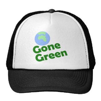 gone green trucker hat
