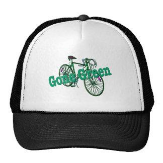 Gone Green Trucker Hats