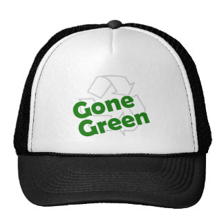gone green mesh hat