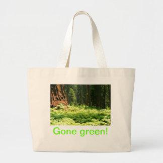 Gone Green Jumbo Tote Bag