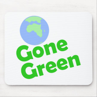 gone green mouse mats