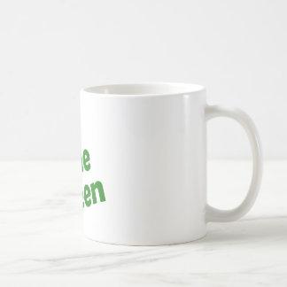 gone green coffee mug