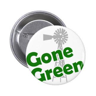 gone green pinback button