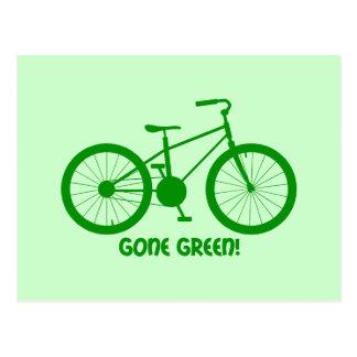 gone green postcard