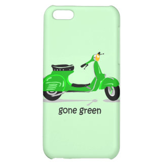 gone green scooter iPhone 5C case