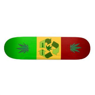 Gone green Skate board