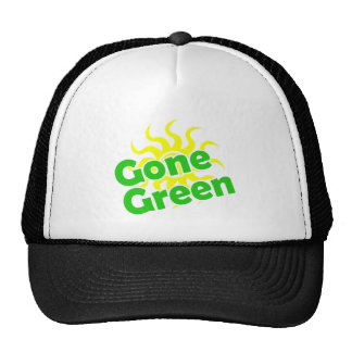 gone green solar mesh hats