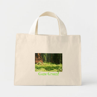 Gone Green Tiny Tote Tote Bag