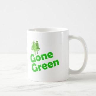 gone green trees mugs