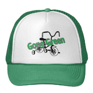 Gone Green (Tricycle) Hats