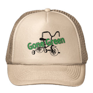 Gone Green (Tricycle) Mesh Hats
