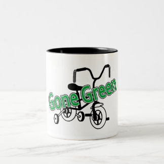 Gone Green (Tricycle) Mugs