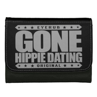 GONE HIPPIE DATING - Peace and Love Subculture Leather Wallets