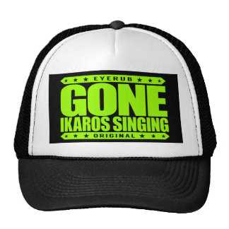 GONE IKAROS SINGING -  Ayahuasca Ceremony Shaman Cap