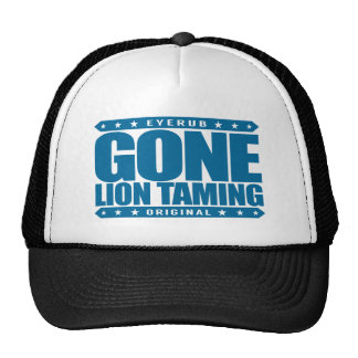 GONE LION TAMING - Life on Top of The Food Chain Cap