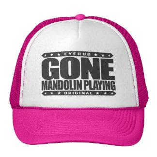GONE MANDOLIN PLAYING - Italian String Instrument Cap