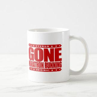 GONE MARATHON RUNNING - I'm a Long Distance Runner Basic White Mug