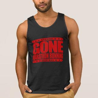 GONE MARATHON RUNNING - I'm a Long Distance Runner Tanks