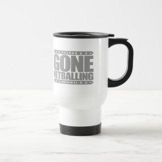 GONE NETBALLING - Women's Netball Isn't Basketball Stainless Steel Travel Mug