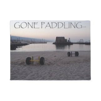 Gone Paddling Doormat