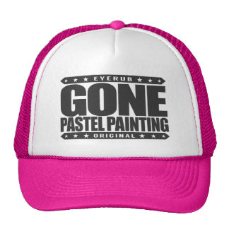GONE PASTEL PAINTING - Skilled Renaissance Painter Cap