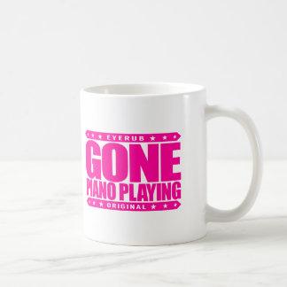 GONE PIANO PLAYING - I Am a Child Prodigy Pianist Basic White Mug