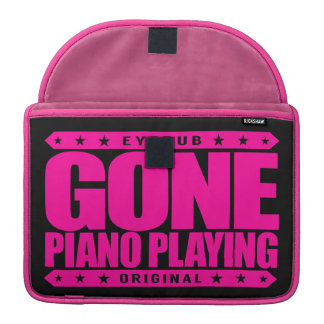 GONE PIANO PLAYING - I Am a Child Prodigy Pianist Sleeve For MacBook Pro