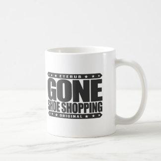 GONE SHOE SHOPPING - I'm Shoe Addict & Sneakerhead Basic White Mug