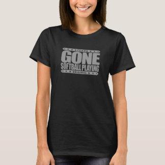 GONE SOFTBALL PLAYING - World Series Championship T-Shirt