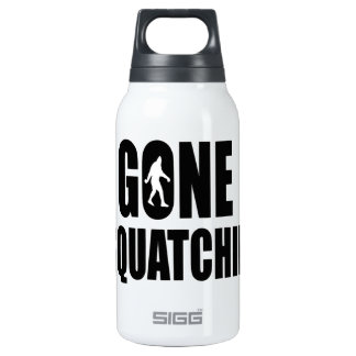 Gone Squatchin' 0.3L Insulated SIGG Thermos Water Bottle