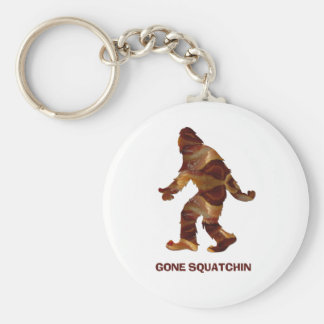 Gone Squatchin BACON Key Chains