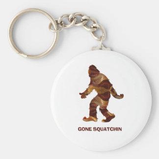 Gone Squatchin BACON Key Chain