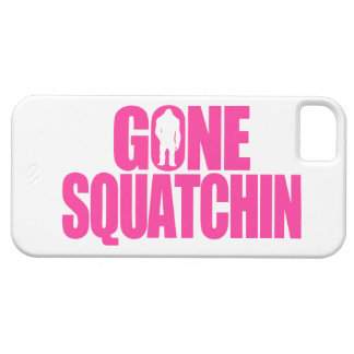 Gone Squatchin Barely There iPhone 5 Case