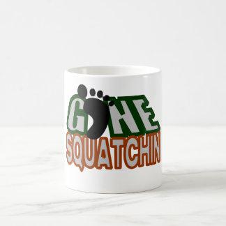 Gone Squatchin Basic White Mug