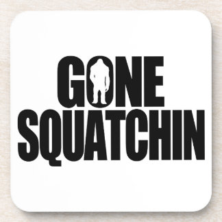 Gone Squatchin Beverage Coasters