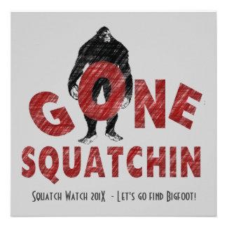 Gone Squatchin Bigfoot Hunters Club Invite