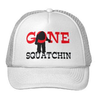 Gone Squatchin Bigfoot Trapped Cap
