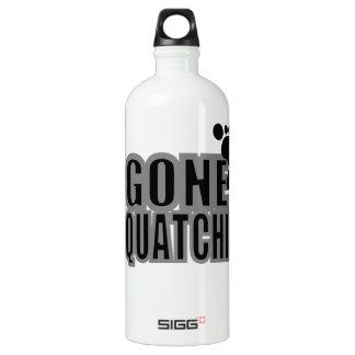 Gone Squatchin Black and Gray Logo SIGG Traveller 1.0L Water Bottle