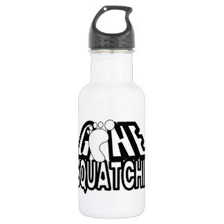Gone Squatchin Black And White Logo 532 Ml Water Bottle