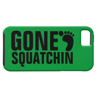 GONE SQUATCHIN BLACK GREEN iPhone 5 COVER