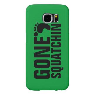 GONE SQUATCHIN BLACK GREEN SAMSUNG GALAXY S6 CASES