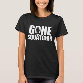 Gone Squatchin-Black (Women) T-Shirt