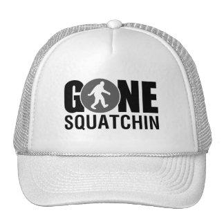 Gone Squatchin Blue Mesh Hat