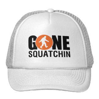 Gone Squatchin Blue Trucker Hats