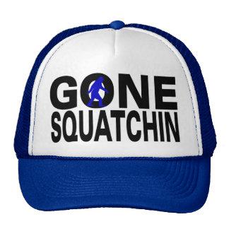 Gone Squatchin (blue logo) Cap