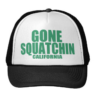 GONE SQUATCHIN California Hat (green)
