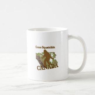 Gone Squatchin - Canada Basic White Mug