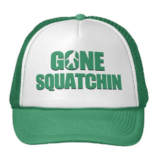 Gone Squatchin Trucker Hats
