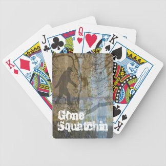Gone squatchin card decks