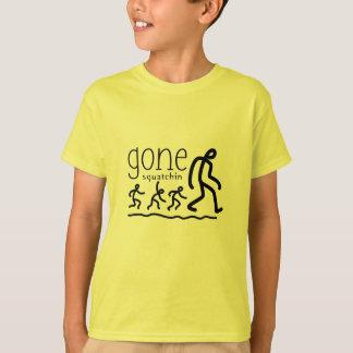 Gone Squatchin Cartoon T-Shirt